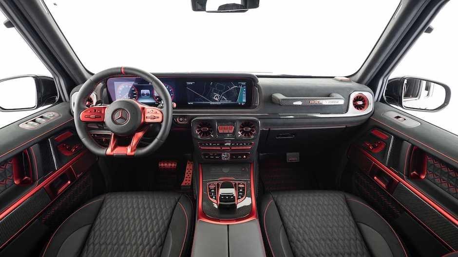 Brabus 900 at qüvvəli G-Class modelini təqdim edib